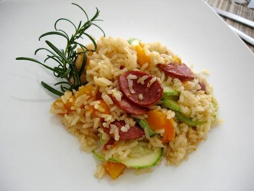 Autumn spicy rice