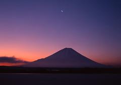 Morning glow(Mt.fuji, (Blue Ridge Walker) Tags: winter japan  fujisan   mtfuji worldculturalheritage