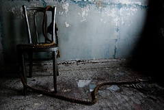 bad influence (Diana Pappas) Tags: ny abandoned chair rope resort portfolio catskills shootingwithsmackduffanddave