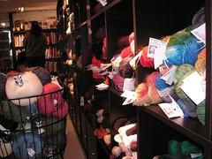Spinster yarn display