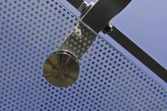 erste Glasplatten am Baldachin Bahnhofplatz Bern montiert
