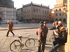 Morning in The Square (Piazza Maggiore, Bologna)