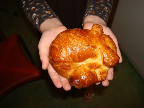 Croissant sans beurre