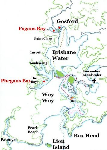 Fagans Bay & Phegans Bay