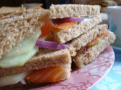 Tea sandwiches (kimkeough) Tags: food tea sandwiches dsch3 sonydsch3