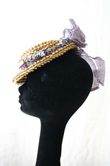 Side view of the hat