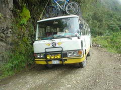 Death Road bus