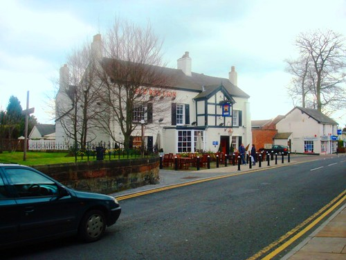 The Red Lion Pub in Holmes Chapel