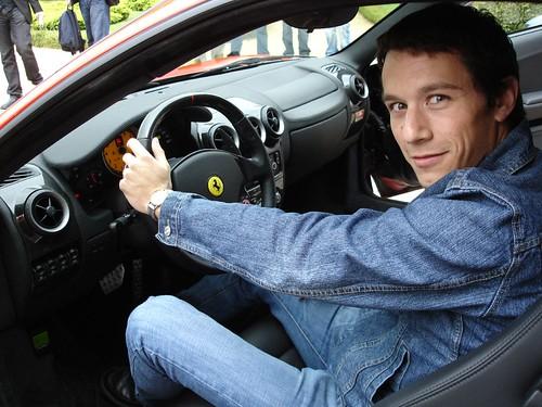 En un Ferrari F-430