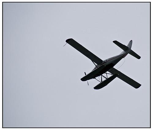 Sea Plane Juneau Alaska
