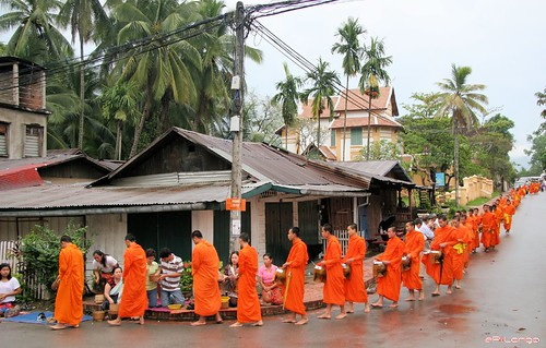 Novice Monks @ Luang Prabang