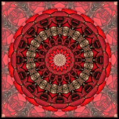 Crimson (Lyle58) Tags: red abstract geometric circle kaleidoscope mandala symmetry zen harmony reflective symmetrical balance circular kaleidoscopic kaleidoscopes sparklies kaleidoscopefun kaleidoscopesonly missbliss1955