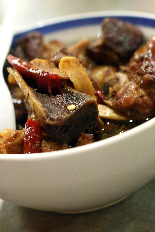 Pork Trotters in Black Vinegar
