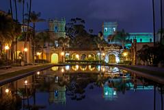 Balboa Park (mojo2u) Tags: california night sandiego hdr balboapark theprado photomatix nikond80 nikon1855