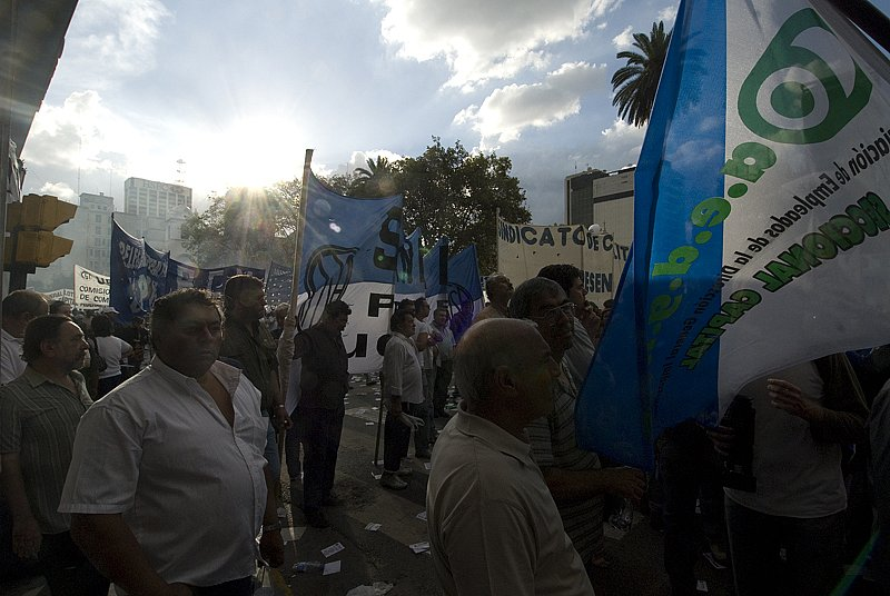 Plaza de Mayo Protest
