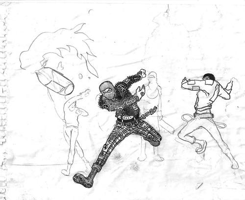 Dibujos Punks
