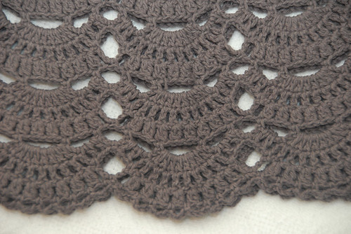 Crochet Babydoll Tunic Close-up