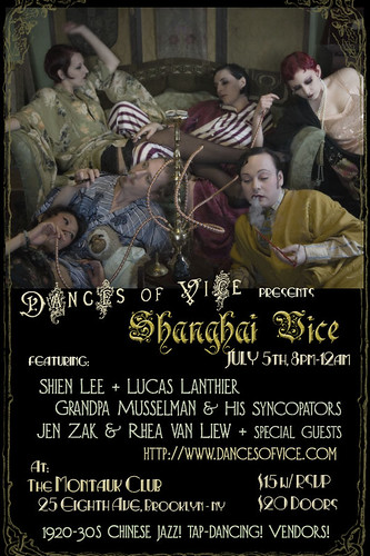 Shanghai Vice Flyer