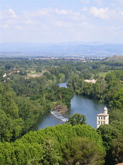 Béziers: view of the River Orb