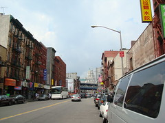 chinatown east broadway street bridge by stevehuang7, on Flickr
