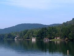 Lake Burton View (markmusicgreen) Tags: summer lake mountains georgia north september late rabun burton