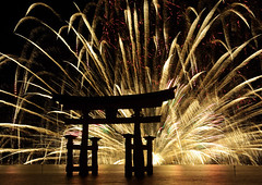 Miyajima Water FireworksWorldheritage (h orihashi) Tags: reflection japan night landscape gate shrine pentax fireworks firework hiroshima miyajima  inspire torii soe hanabi  globalvillage worldheritage itsukushima     blueribbonwinner  artisticexpression  supershot flickrsbest bej golddragon mywinners abigfave k10d pentaxk10d platinumphoto anawesomeshot impressedbeauty aplusphoto flickrhearts isawyoufirst crystalaward diamondclassphotographer flickrdiamond superhearts lunarvillage citrit excellentphotographerawards heartawards theunforgettablepictures colourartaward betterthangood theperfectphotographer goldstaraward hatsukaichishi rubyphotographer damniwishidtakenthat mikesdance colorphotoawardpremier
