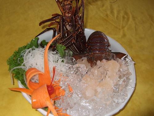 唐妮可☆吃喝玩樂過生活 拍攝的 20080502_鹽寮(055龍蝦海鮮餐廳)_04。