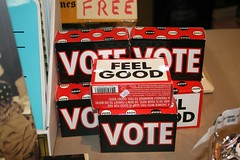 Feel Good Vote soap at Bailey Coy