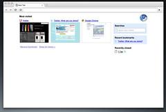 Chromium Start Page