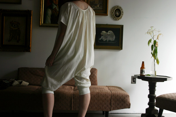 a nightgown with legs