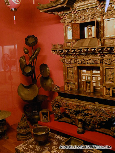 Some oriental exhibit, belonging again to the Tata family