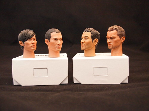 Headplay 1/6 Head Sculpts
