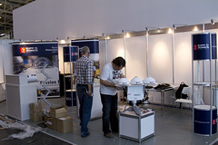 Building the booth InterSolar (Kipp & Zonen BV) Tags: booth munich exhibition kipp intersolar messefreiburg intersolar2011