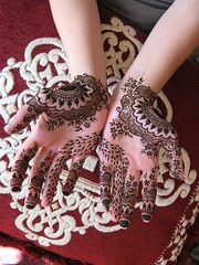 bridal henna hands for nikki (HennaLounge) Tags: new wedding mexico bride persian nikki gulf indian mexican bridal henna mehndi 7ena khalijee