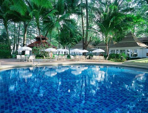 Piscina del Dusit Thani Laguna Phuket Resort