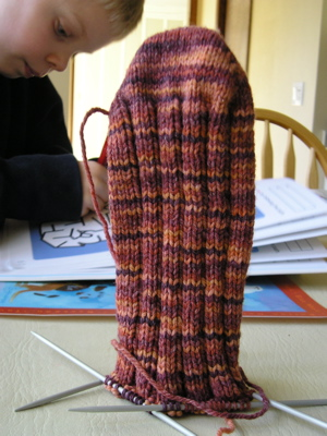Sugarplum Sock