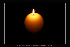 Candle  ([.. AlAmEeEr ..]) Tags: digital canon eos candles candle 400d alameeer