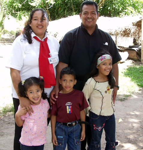 Adrian, Cruz Maria and children