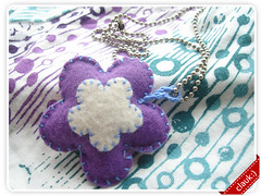 Flor (clauk :)) Tags: sewing craft felt feltro feltflower pingentedefeltro