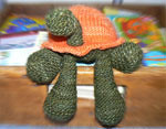 Trelford the Turtle: An original Little Turtle Knits Pattern