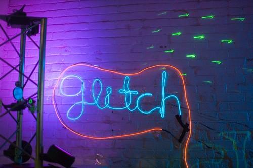Electro-luminescent wire - Glitchgiving 2007 (professorpious)