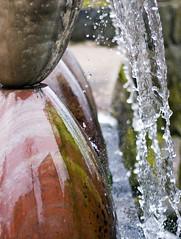Liquid/Frozen (diesmali) Tags: red fall water urn sweden sverige liquid stergtland johanklovsj