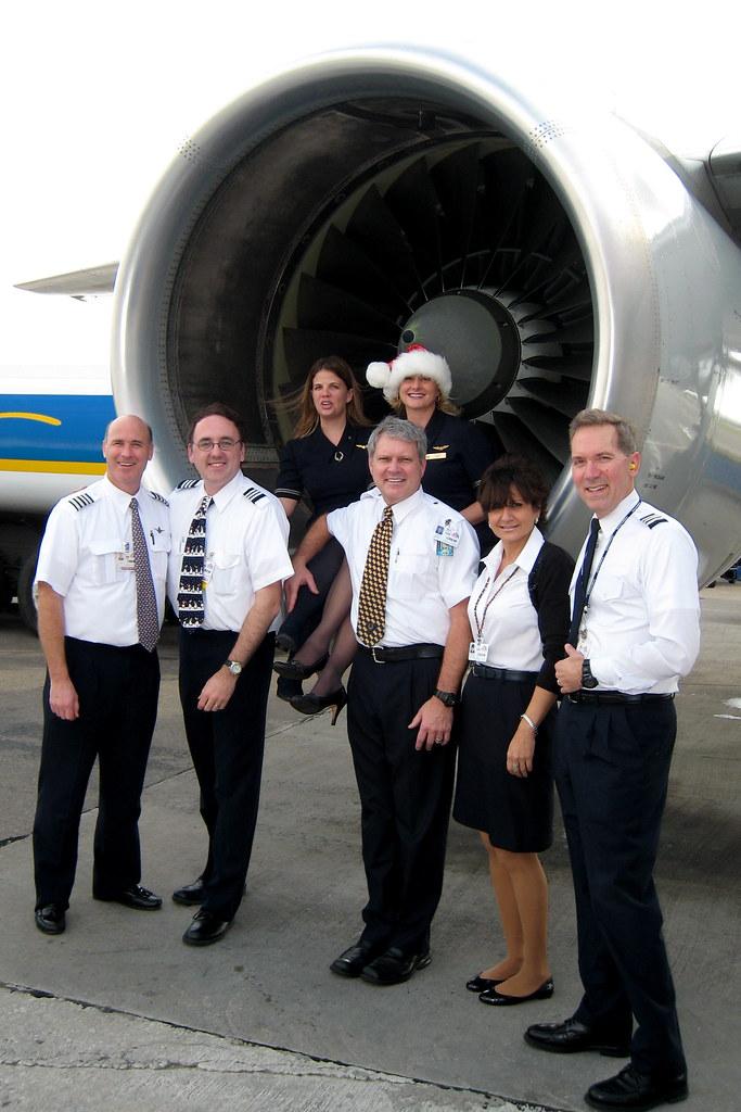 Crew pose picture in Aruba