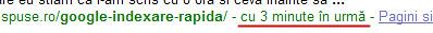google indexare