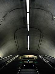 (Sameli) Tags: city abstract suomi finland dark subway spider helsinki metro nopeople kamppi form futuristic 23skidoo
