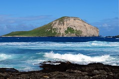 Hava (Windward Coast) Makapu'u Beach Park 214 (Arnaldo (Interata)) Tags: makapuubeachpark halonablowhole makapuubeach makapuulookout