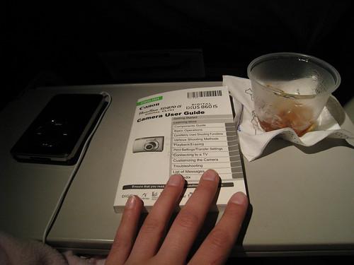 52 Weeks: Week 7: Using the plane ride wisely.