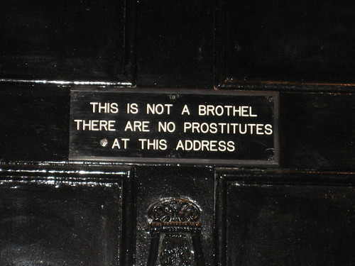 THIS IS NOT A BROTHEL THERE ARE NO PROSTITUTES AT THIS ADDRESS