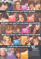 1970's Toni Silkwave Perm (twitchery) Tags: vintage hair shampoo 80s 70s perm conditioner vintageads vintagebeauty