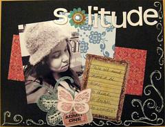 Solitude (artchick2002) Tags: scrapbook load 365dayschallenge scarletlime
